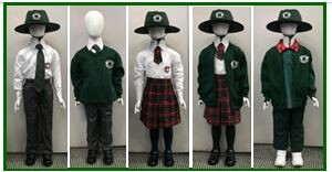 Uniform worn at Jasper Road PS